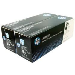 Оригинальный картридж двойной HP CB436AD/AF